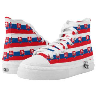 Slovakia High-Top Sneakers