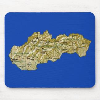 Slovakia Map Mousepad