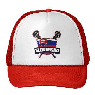 Slovakia Slovensko Lacrosse Trucker Hat