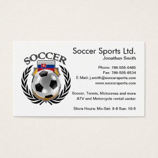 Slovakia Soccer 2016 Fan Gear Business Card