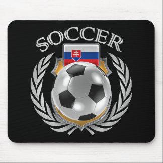 Slovakia Soccer 2016 Fan Gear Mouse Pad