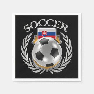 Slovakia Soccer 2016 Fan Gear Paper Napkin