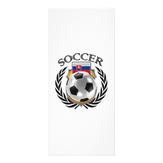 Slovakia Soccer 2016 Fan Gear Rack Card