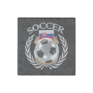 Slovakia Soccer 2016 Fan Gear Stone Magnet