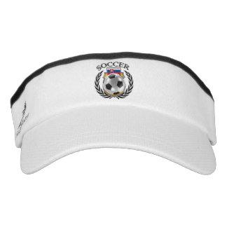 Slovakia Soccer 2016 Fan Gear Visor