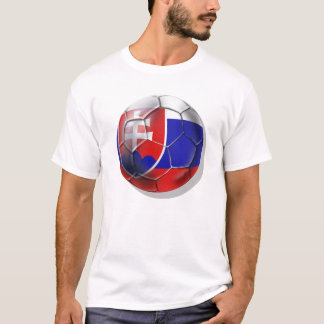 Slovakia soccer ball flag of Slovenska gifts T-Shirt