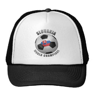 SLOVAKIA SOCCER CHAMPIONS TRUCKER HAT