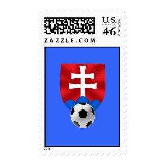 Slovakia soccer emblem for Slovaks worldwide Postage Stamps