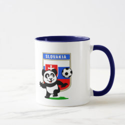 Combo Mug with Slovakia Football Panda design