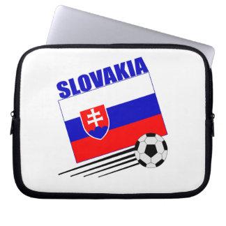Slovakia Soccer Team Laptop Computer Sleeve