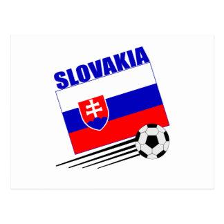 Slovakia Soccer Team Postcard
