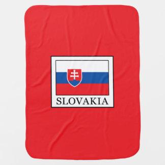 Slovakia Swaddle Blanket