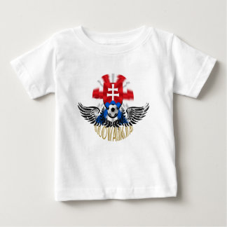Slovakia Wings of Delight soccer football gifts Baby T-Shirt