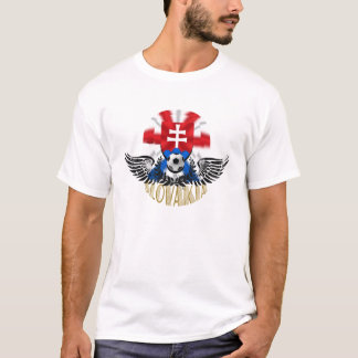 Slovakia Wings of Delight soccer football gifts T-Shirt