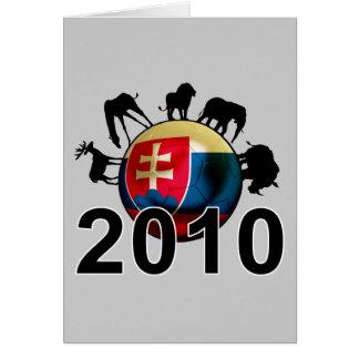 Slovakia World  2010 Greeting Card