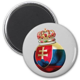 Slovakia World  Champion 2 Inch Round Magnet