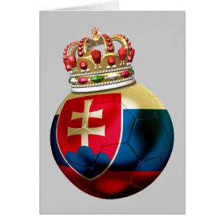 Slovakia World  Champion Greeting Card