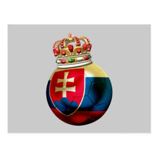 Slovakia World  Champion Postcard