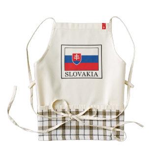 Slovakia Zazzle HEART Apron