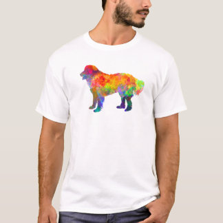 Slovakian Chuvach in watercolor T-Shirt