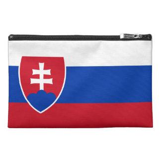 Slovakian Flag Travel Accessory Bags