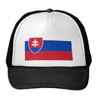 Slovakian Flag Trucker Hat