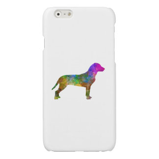 Slovakian Hound in watercolor Glossy iPhone 6 Case