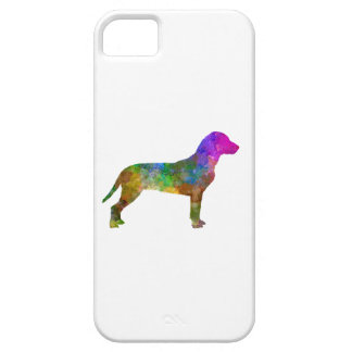 Slovakian Hound in watercolor iPhone SE/5/5s Case