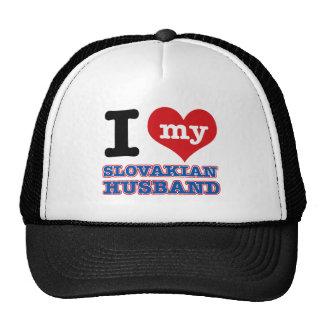 Slovakian I heart designs Trucker Hat