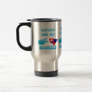 Slovaks are my Homies 15 Oz Stainless Steel Travel Mug
