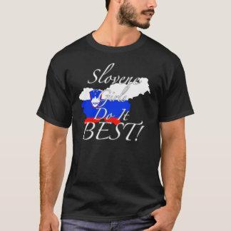 Slovene Girls Do It Best! T-Shirt