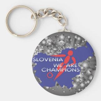 Slovenia 2010 keychain