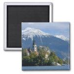 Slovenia, Bled, Lake Bled, Bled Island, Bled Magnets