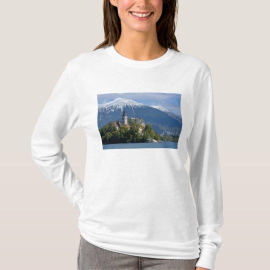 Slovenia, Bled, Lake Bled, Bled Island, Bled T-Shirt