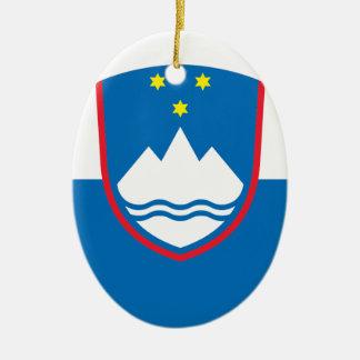 Slovenia Ceramic Ornament