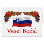 Slovenia Christmas Greeting Cards