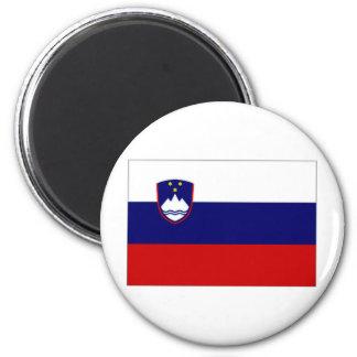 Slovenia Civil Ensign 2 Inch Round Magnet