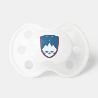 Slovenia Coat of Arms Pacifier