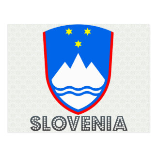Slovenia Coat of Arms Post Cards