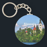"Slovenia Countryside Keychain<br><div class=""desc"">Scenic countryside of Slovenia.</div>"