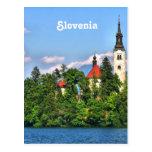 Slovenia Countryside Postcard