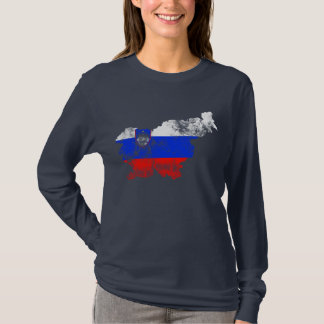 Slovenia Distressed Flag T-Shirt