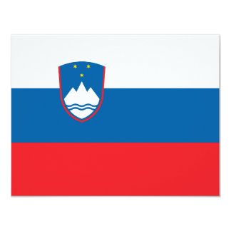 Slovenia Flag Card