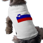 Slovenia Flag Dog Clothing