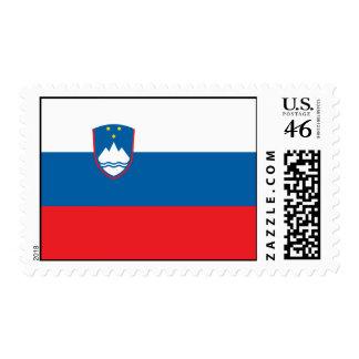 Slovenia Flag Postage Stamp