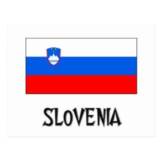 Slovenia Flag Post Cards