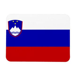 Slovenia Flag Rectangular Photo Magnet