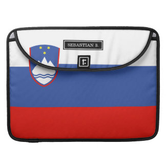 Slovenia Flag Sleeve For MacBook Pro