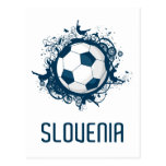 Slovenia Football Postcard
