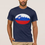 Slovenia Gnarly Flag T-Shirt
